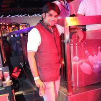 Sachin Tendulkar at Smaaash Hyderabad Stills