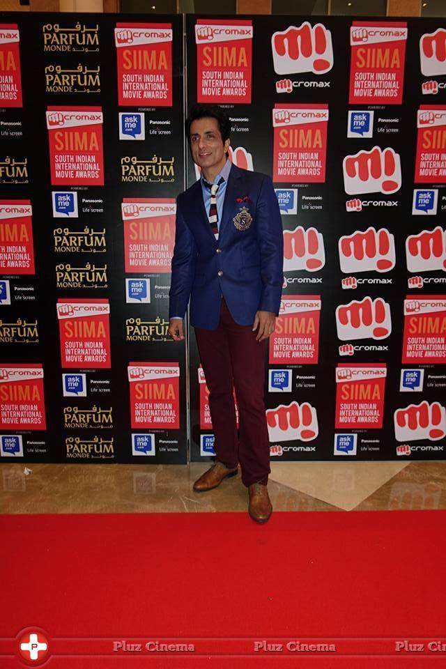 Sonu Sood - SIIMA Awards 2015 Red Carpet Photos | Picture 1090409