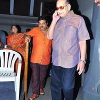 Super Star Krishna at Srimanthudu Movie Screening Stills | Picture 1090657