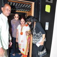 Super Star Krishna at Srimanthudu Movie Screening Stills | Picture 1090663