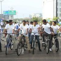 Mahesh Babu Flags off Chak De India Ride Photos