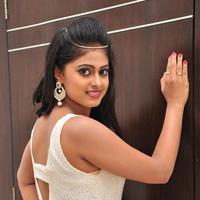 Megha Sri at Anaganaga Oka Chitram Movie Audio Launch Stills | Picture 1096625
