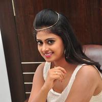 Megha Sri at Anaganaga Oka Chitram Movie Audio Launch Stills | Picture 1096641