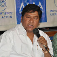 Rajendra Prasad - Maa Press Meet for Chennai Floods Stills