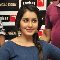 Raashi Khanna - Bengal Tiger Movie Team at Spykar Store Jubilee Hills