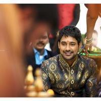 Varun Sandesh - Varun Sandesh and Vithika Sheru Engagement Photos