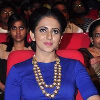 Rakul Preet Singh - Nannaku Prematho Movie Audio Launch Stills