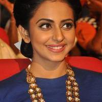 Rakul Preet Singh at Nannaku Prematho Movie Audio Launch Photos