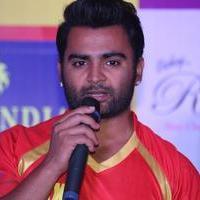 Sachiin J Joshi - Telugu Warriors Team Press Meet Stills