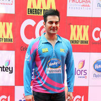 Arbaaz Khan - CCL 5 Mumbai Heroes Vs Veer Marathi Match Stills