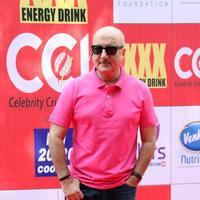 Anupam Kher - CCL 5 Mumbai Heroes Vs Veer Marathi Match Stills