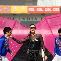 Neha Dhupia - CCL 5 Mumbai Heroes Vs Veer Marathi Match Stills