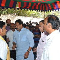 Chiranjeevi (Actors) - Celebs Pays Condolences to VB Rajendra Prasad Photos
