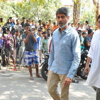 Jagapathi Babu - Celebs Pays Condolences to VB Rajendra Prasad Photos | Picture 934411