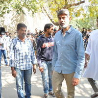 Jagapathi Babu - Celebs Pays Condolences to VB Rajendra Prasad Photos | Picture 934413