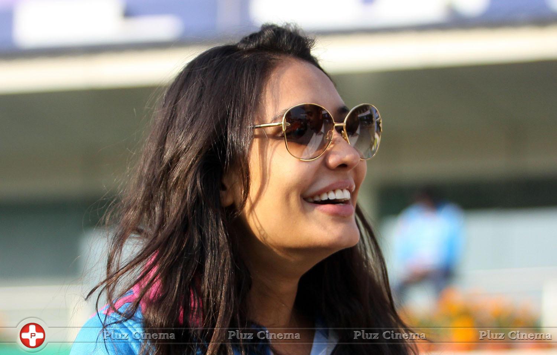 Lisa Haydon - CCL 5 Mumbai Heroes Vs Kerala Strikers Match Photos | Picture 937703