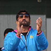 Sunil Shetty - CCL 5 Mumbai Heroes Vs Kerala Strikers Match Photos | Picture 937593