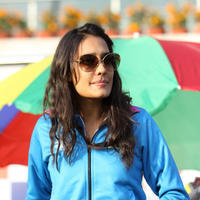 Lisa Haydon - CCL 5 Mumbai Heroes Vs Kerala Strikers Match Photos | Picture 937704