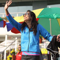 Lisa Haydon - CCL 5 Mumbai Heroes Vs Kerala Strikers Match Photos | Picture 937705
