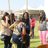 Grape Stomping by Charosa Vineyards at Hyderabad Golf Club