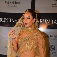 Lisa Haydon - Lisa Haydon walks for Tarun Tahiliani Azva show in Hyderabad
