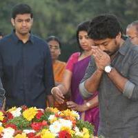 Nandamuri Kalyan Ram - Nandamuri family Members at NTR Ghat Stills