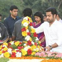 Nandamuri family Members at NTR Ghat Stills