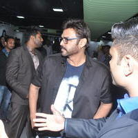 Venkatesh - Venkatesh, Rana and Sumanth launches Steel Gym at Jubilee Hills