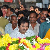 Mano - Celebs Pays Condolences to MS Narayana Photos