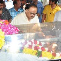 S. P. Balasubrahmanyam - Celebs Pays Condolences to MS Narayana Photos