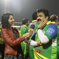 Mohanlal - CCL 5 Kerala Strikers Vs Veer Marathi Match Photos
