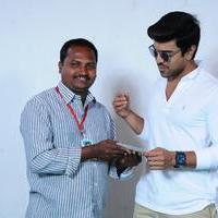 Fans Meets Ram Charan Stills
