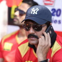 Srikanth Meka - CCL 5 Telugu Warriors vs Karnataka Bulldozers Match Stills