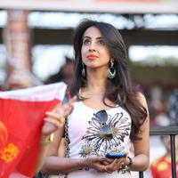 Sanjjanna Galrani - CCL 5 Telugu Warriors vs Karnataka Bulldozers Match Stills
