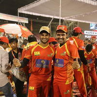 CCL 5 Telugu Warriors vs Karnataka Bulldozers Match Stills