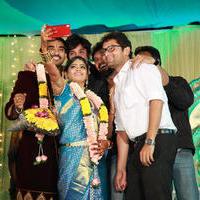 Actor Santhosh Pawan and Anjali Wedding Stills