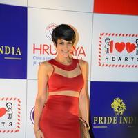 Mandira Bedi - Celebs at 100 Hearts Red Carpet by CCL Stills | Picture 951452