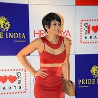 Mandira Bedi - Celebs at 100 Hearts Red Carpet by CCL Stills | Picture 951455
