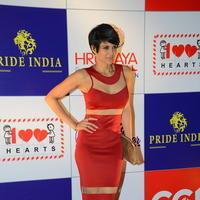 Mandira Bedi - Celebs at 100 Hearts Red Carpet by CCL Stills | Picture 951456
