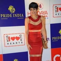 Mandira Bedi - Celebs at 100 Hearts Red Carpet by CCL Stills
