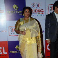 Sripriya Rajkumar - Celebs at 100 Hearts Red Carpet by CCL Stills