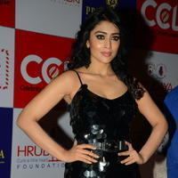 Shriya Saran - Celebs at 100 Hearts Red Carpet by CCL Stills