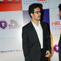 Akhil Akkineni - Celebs at 100 Hearts Red Carpet by CCL Stills