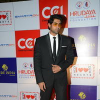 Rana Daggubati - Celebs at 100 Hearts Red Carpet by CCL Stills