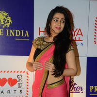 Charmi Kaur at 100 Hearts Red Carpet by CCL Stills | Picture 951095