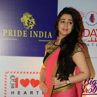 Charmi Kaur at 100 Hearts Red Carpet by CCL Stills | Picture 951096
