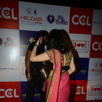 Charmi Kaur at 100 Hearts Red Carpet by CCL Stills | Picture 951098