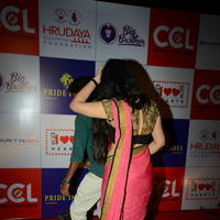 Charmi Kaur at 100 Hearts Red Carpet by CCL Stills | Picture 951099