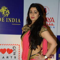 Charmi Kaur at 100 Hearts Red Carpet by CCL Stills | Picture 951105