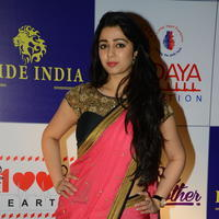 Charmi Kaur at 100 Hearts Red Carpet by CCL Stills | Picture 951106